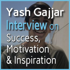 Yash Gajjar Interview